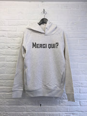 Merci Qui - Hoodie Deluxe-Sweat shirts-Atelier Amelot