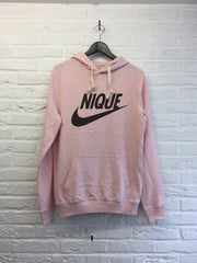 Nique - Hoodie super soft touch-Sweat shirts-Atelier Amelot