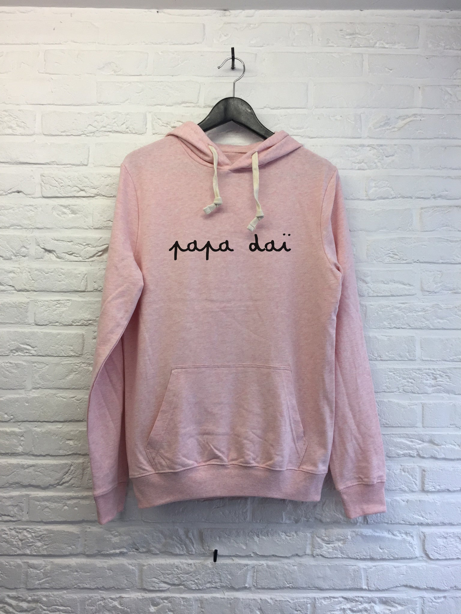 Papa daï - Hoodie super soft touch-Sweat shirts-Atelier Amelot