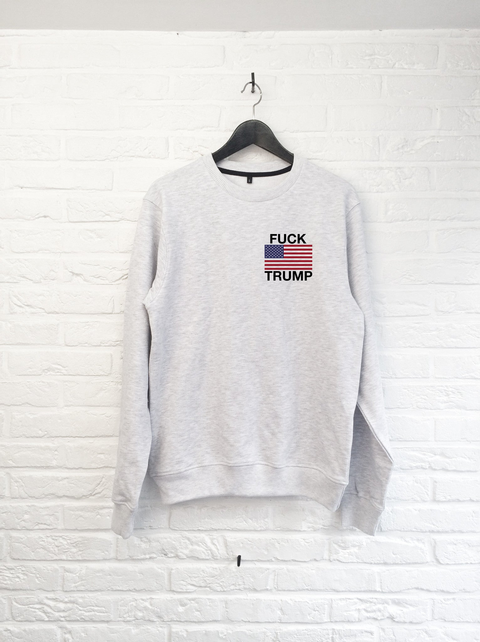 Donald flag coeur - Sweat-Sweat shirts-Atelier Amelot