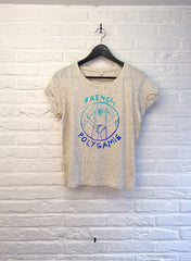 TH Gallery - French Polygamie - Crop top speckled Cream-T shirt-Atelier Amelot