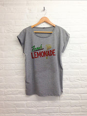 TH Gallery - Fresh Lemonade - Femme Gris-T shirt-Atelier Amelot