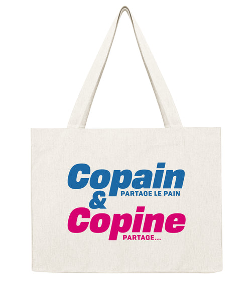 Copain & Copine - Shopping bag-Sacs-Atelier Amelot