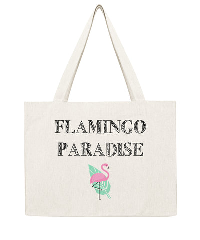 Flamingo Paradise - Shopping bag