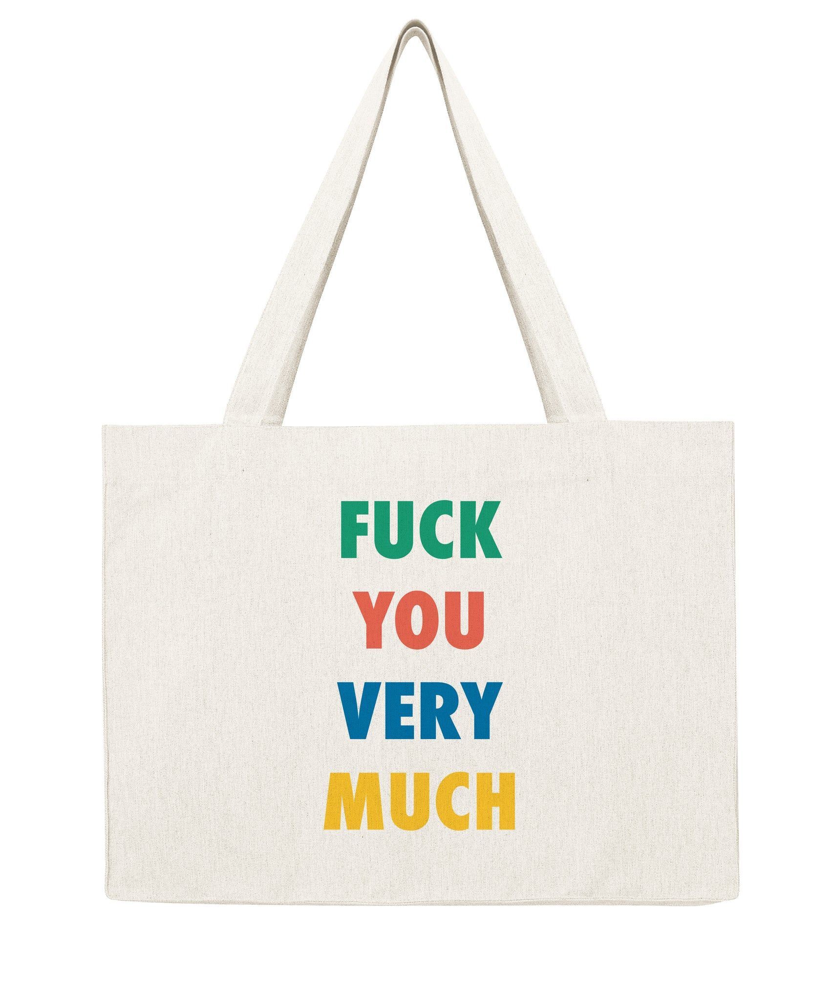 F*** you very much - Shopping bag-Sacs-Atelier Amelot