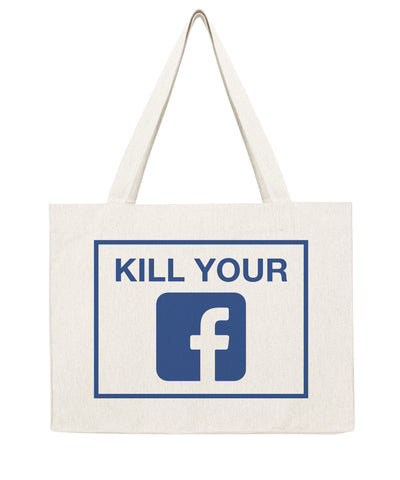 Kill your Facebook - Shopping bag