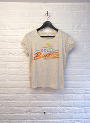 TH Gallery - Hello Biarritz - Crop top speckled Cream-T shirt-Atelier Amelot