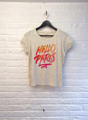 TH Gallery - Hello Paris - Crop top speckled Cream-T shirt-Atelier Amelot