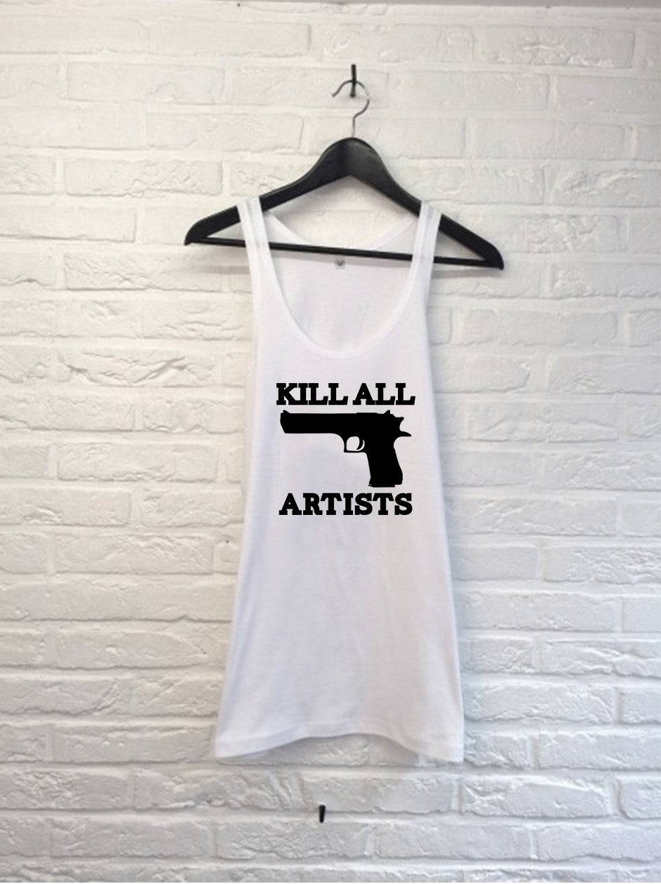 Kill the artist - Débardeur-T shirt-Atelier Amelot