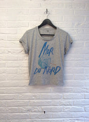 TH Gallery - Mer du Nord - Crop top speckled Grey-T shirt-Atelier Amelot