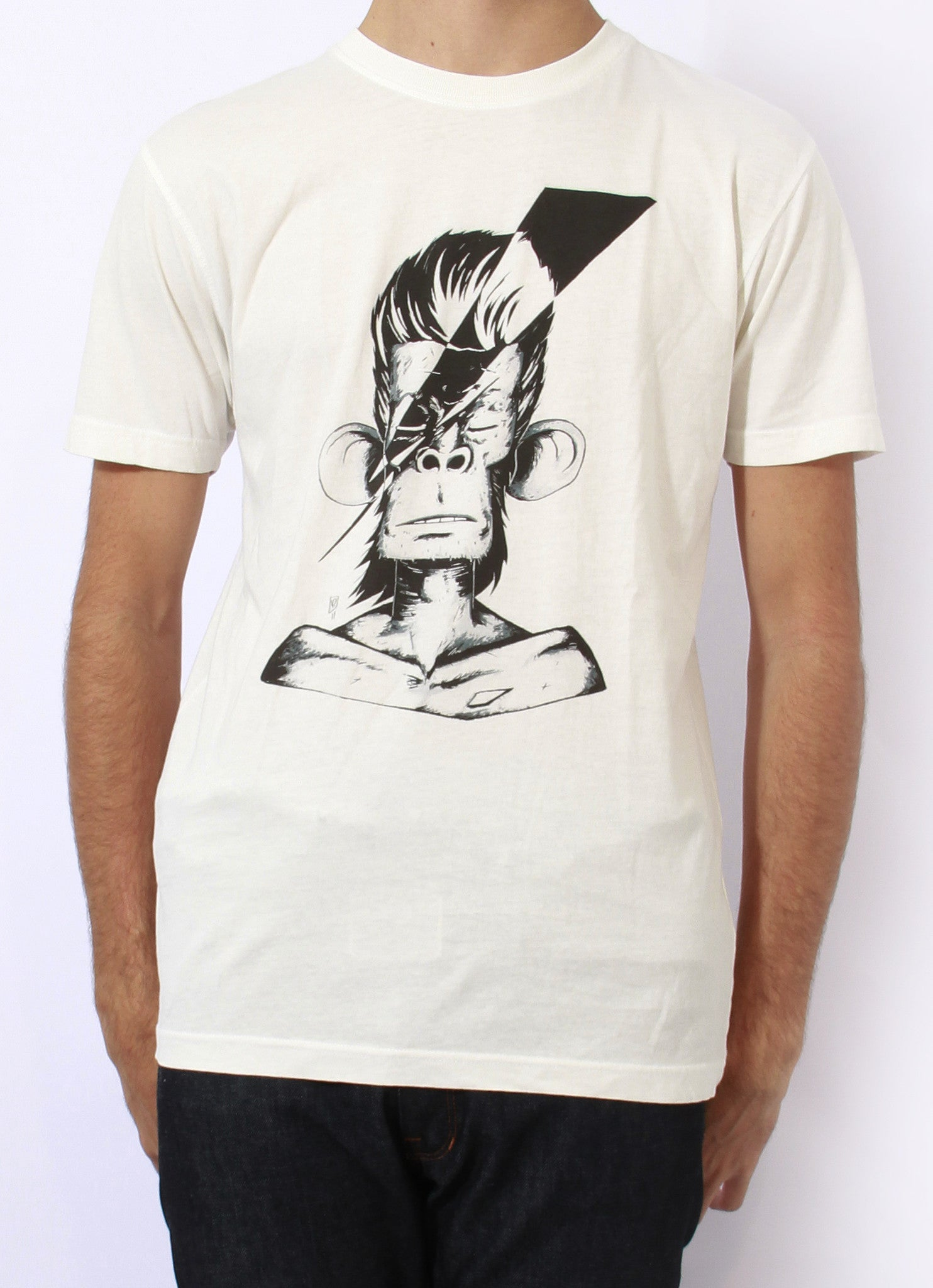 TH Gallery - Bowie Singe-T shirt-Atelier Amelot