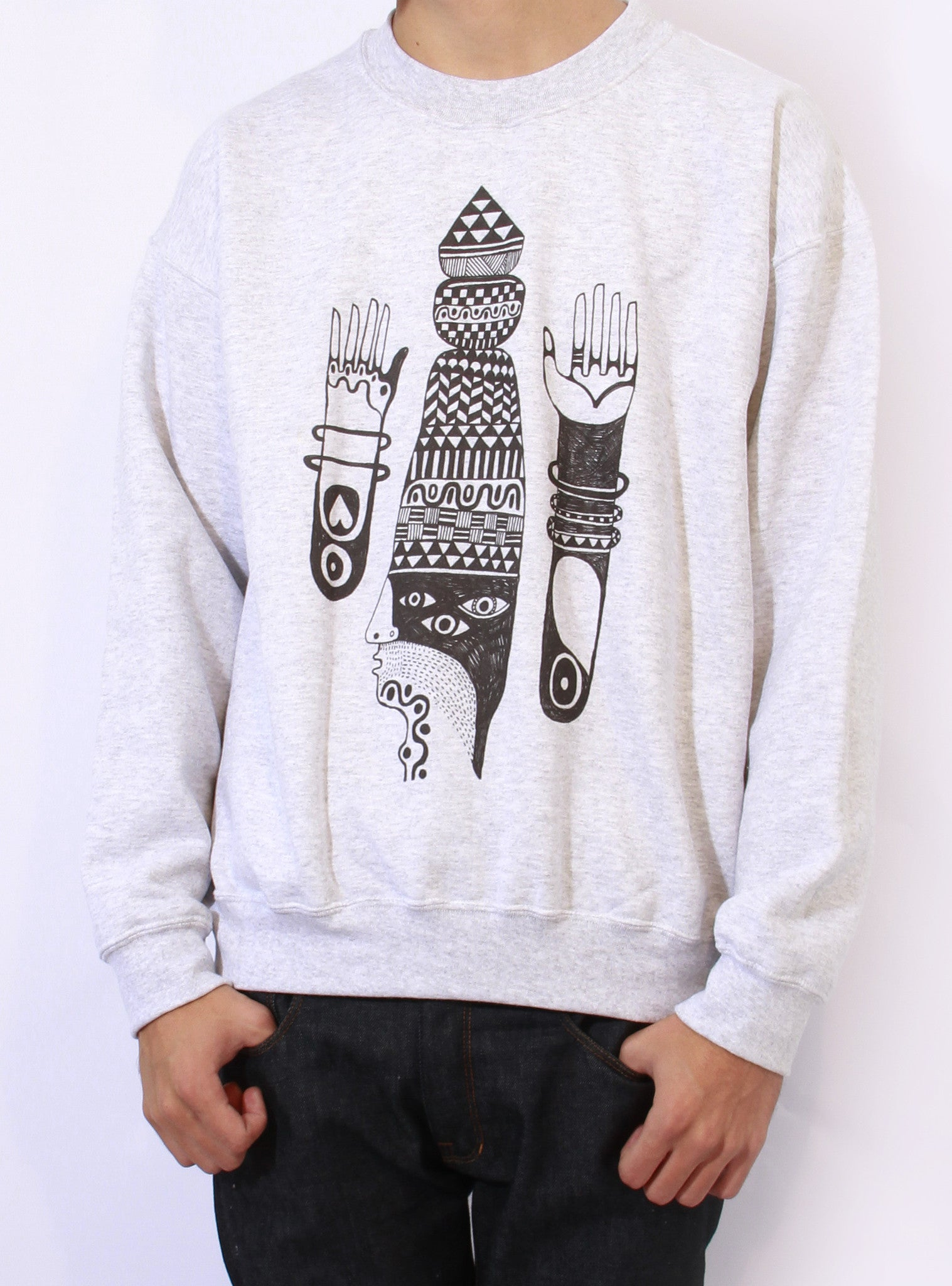 TH Gallery - Pattern Arm - Sweat-Sweat shirts-Atelier Amelot
