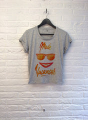 TH Gallery - Mode Vacances- Crop top speckled Grey-T shirt-Atelier Amelot