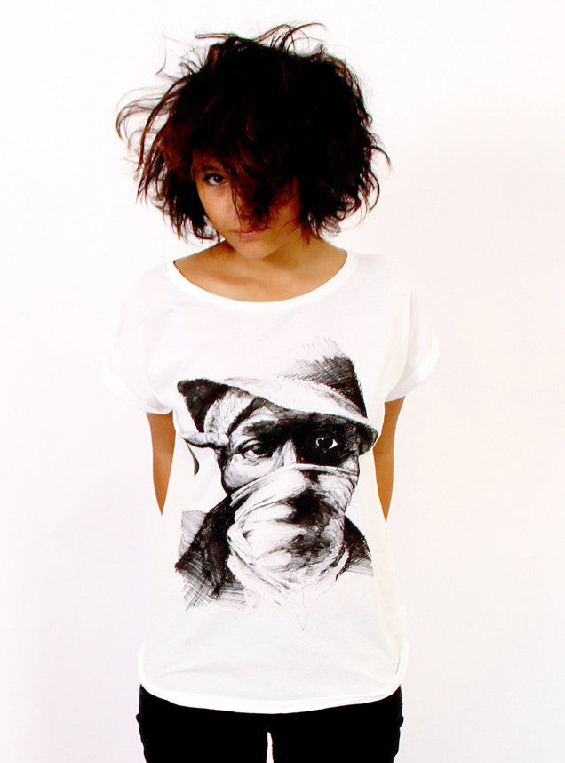 TH Gallery - Mos def - Femme-T shirt-Atelier Amelot