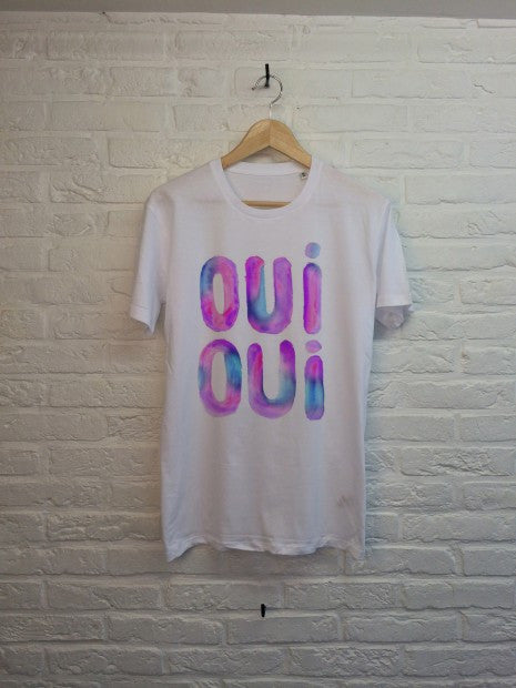 TH Gallery - Oui Oui (violet)-T shirt-Atelier Amelot