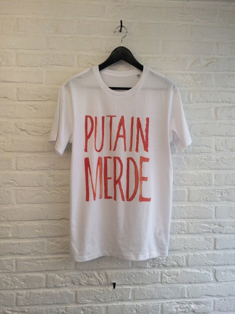 TH Gallery - Putain Merde-T shirt-Atelier Amelot