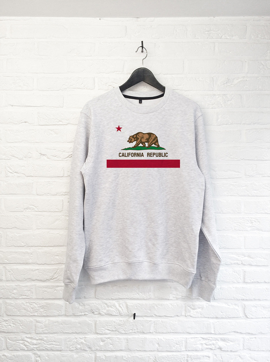 California Republic - Sweat-Sweat shirts-Atelier Amelot