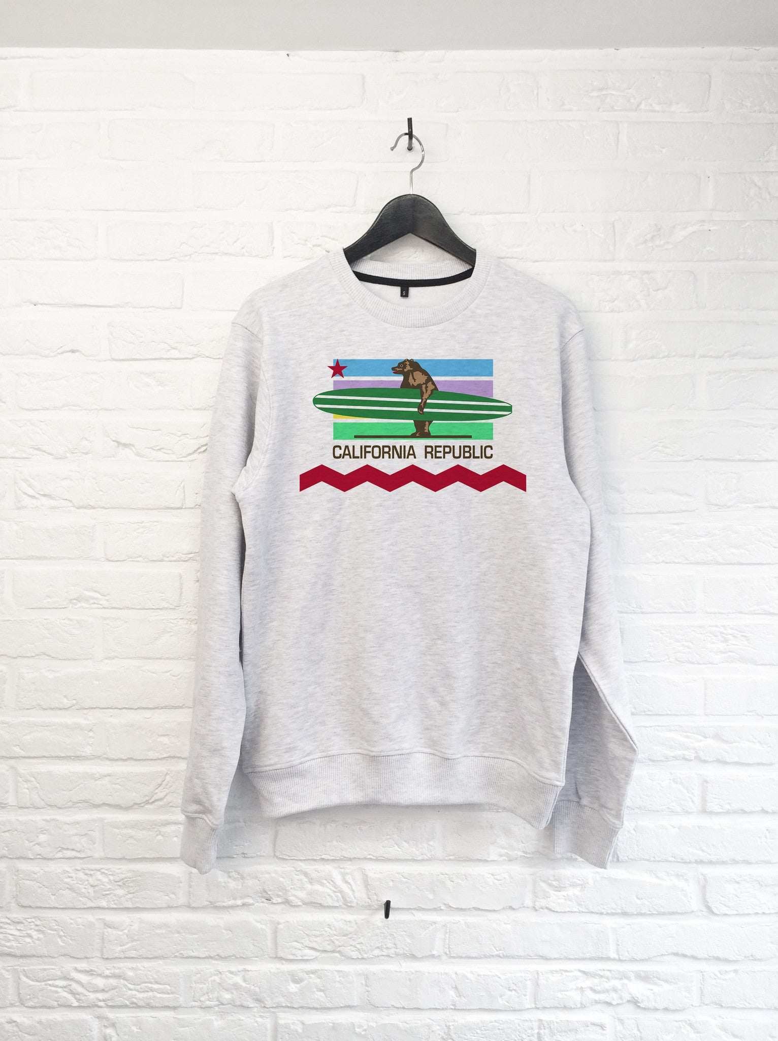 California Bear Longboard - Sweat-Sweat shirts-Atelier Amelot