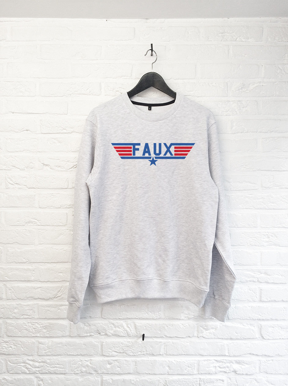 FAUX Top Gun - Sweat-Sweat shirts-Atelier Amelot