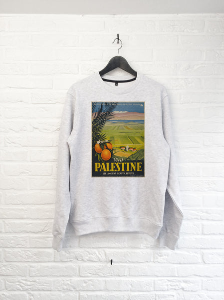 Visit Palestine Orange - Sweat