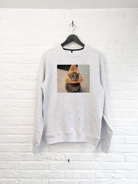 Chat Pizza - Sweat-Sweat shirts-Atelier Amelot