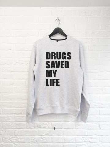 Drugs saved my Life - Sweat-Sweat shirts-Atelier Amelot