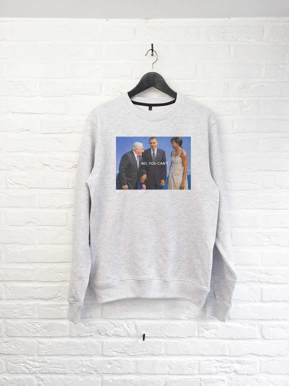 DSK No you cant - Sweat-Sweat shirts-Atelier Amelot
