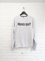 Merci Qui - Sweat-Sweat shirts-Atelier Amelot