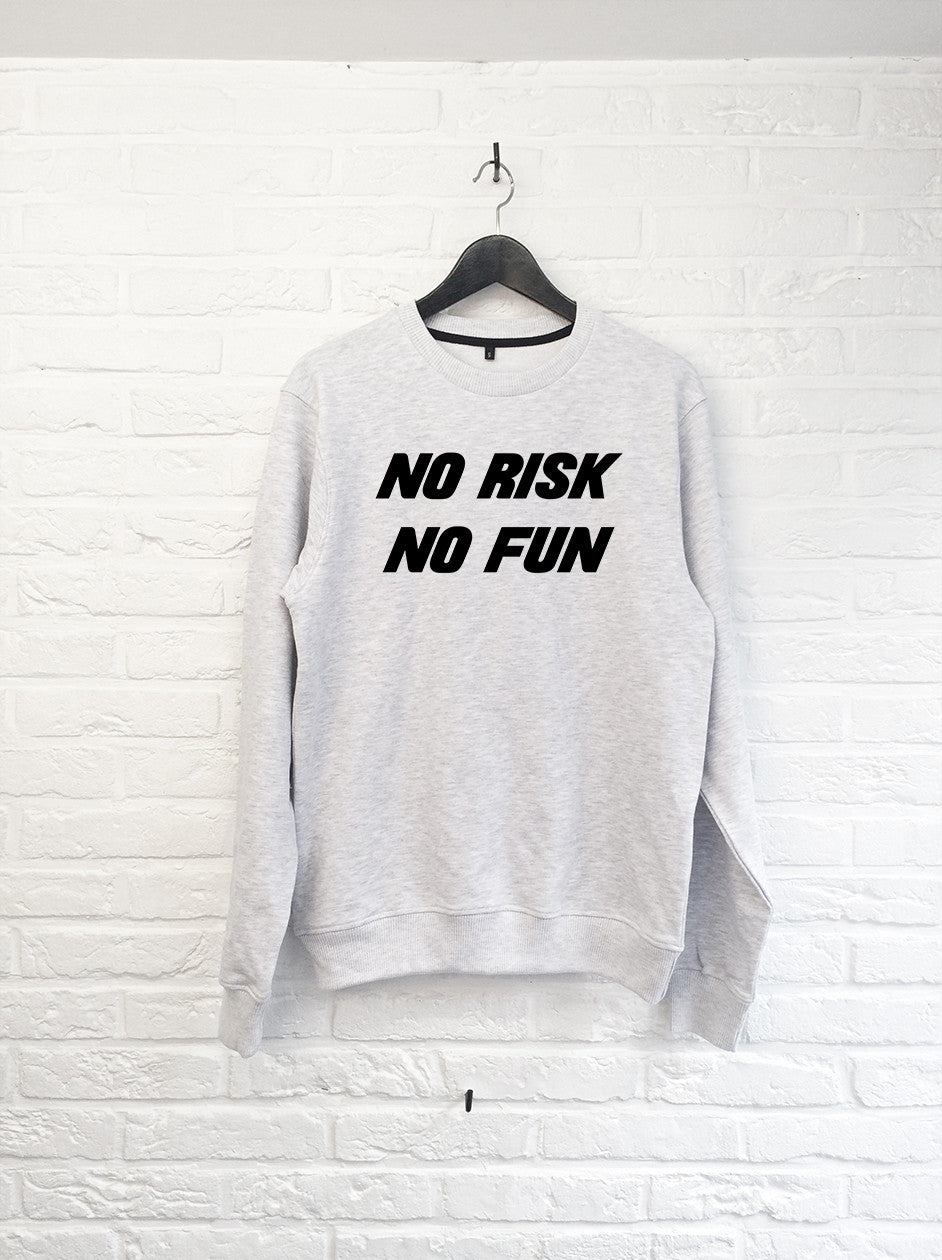No risk No fun - Sweat-Sweat shirts-Atelier Amelot