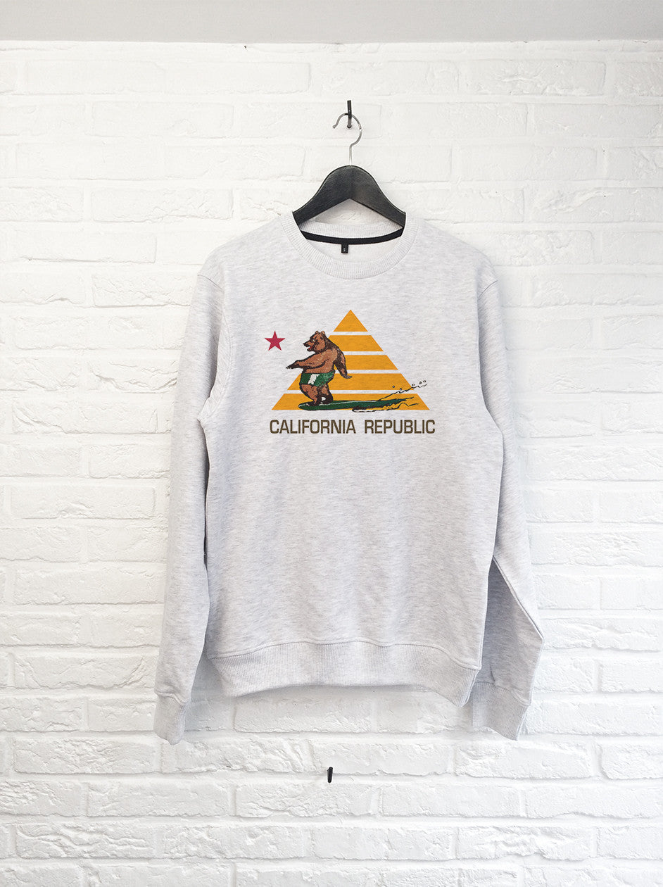Ours Surf Pyramide - Sweat-Sweat shirts-Atelier Amelot