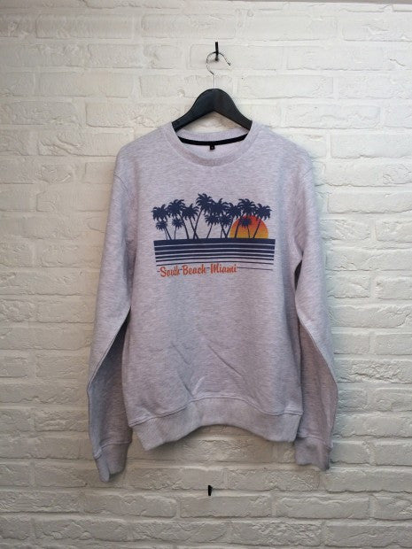 South miami beach Sweat-Sweat shirts-Atelier Amelot