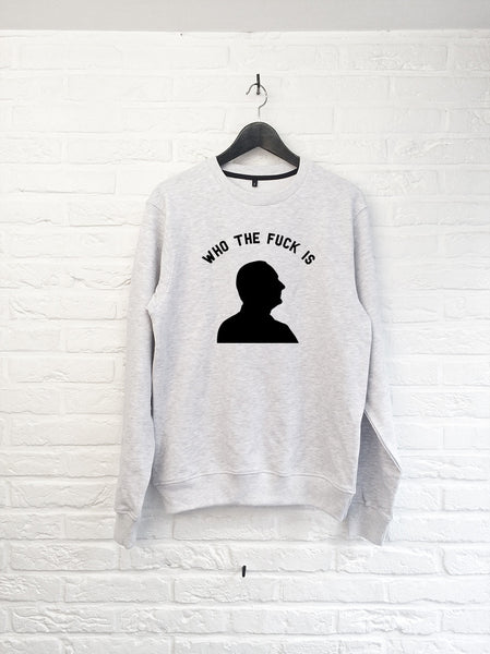 Who the f*** is Chirac - Sweat-Sweat shirts-Atelier Amelot