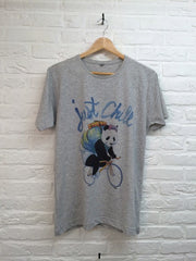 TH Gallery - Hippo Just Chill Gris-T shirt-Atelier Amelot