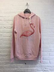 TH Gallery - Just Chill Flamant rose - Hoodies super soft touch-Sweat shirts-Atelier Amelot
