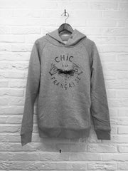 TH Gallery - Chic a la Française - Hoodie Deluxe Gris