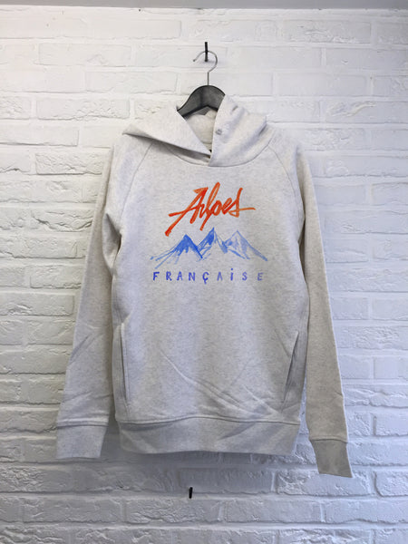 TH Gallery - Alpes Françaises - Hoodies Deluxe Creme chine
