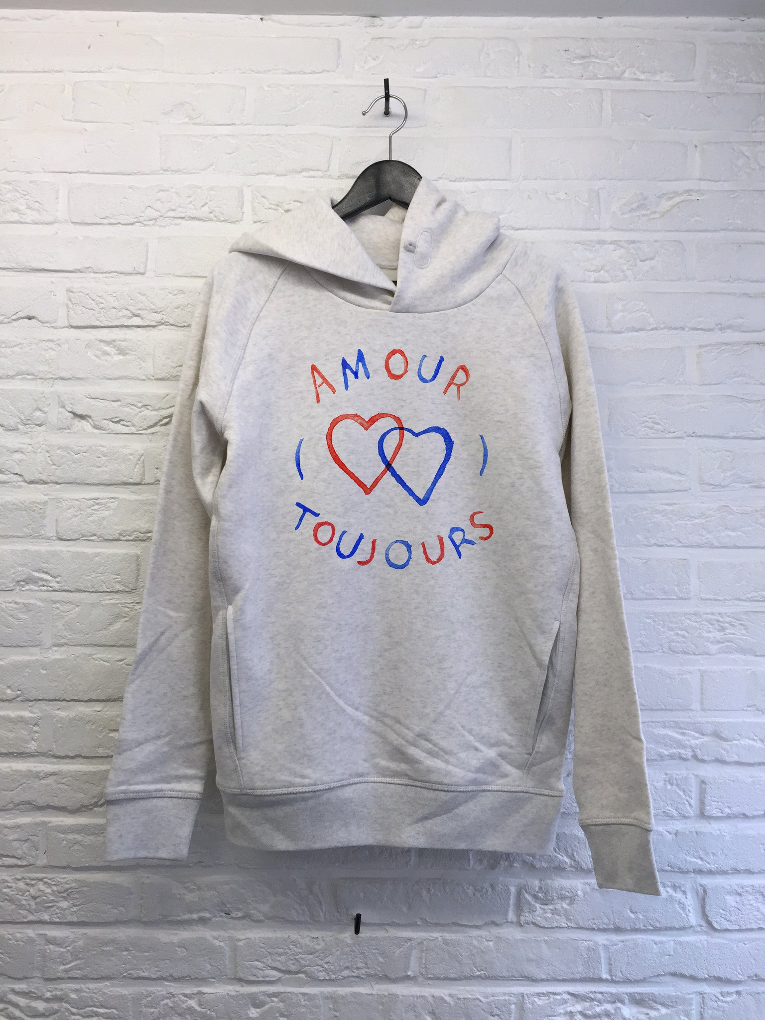 TH Gallery - Amour Toujours - Hoodies Deluxe-Sweat shirts-Atelier Amelot