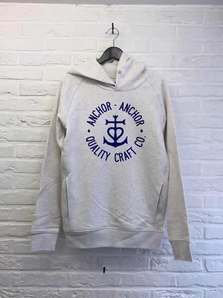 TH Gallery - Anchor Anchor - Hoodies Deluxe Creme chine
