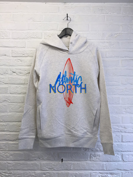TH Gallery - Atlantic North - Hoodies Deluxe Creme chine