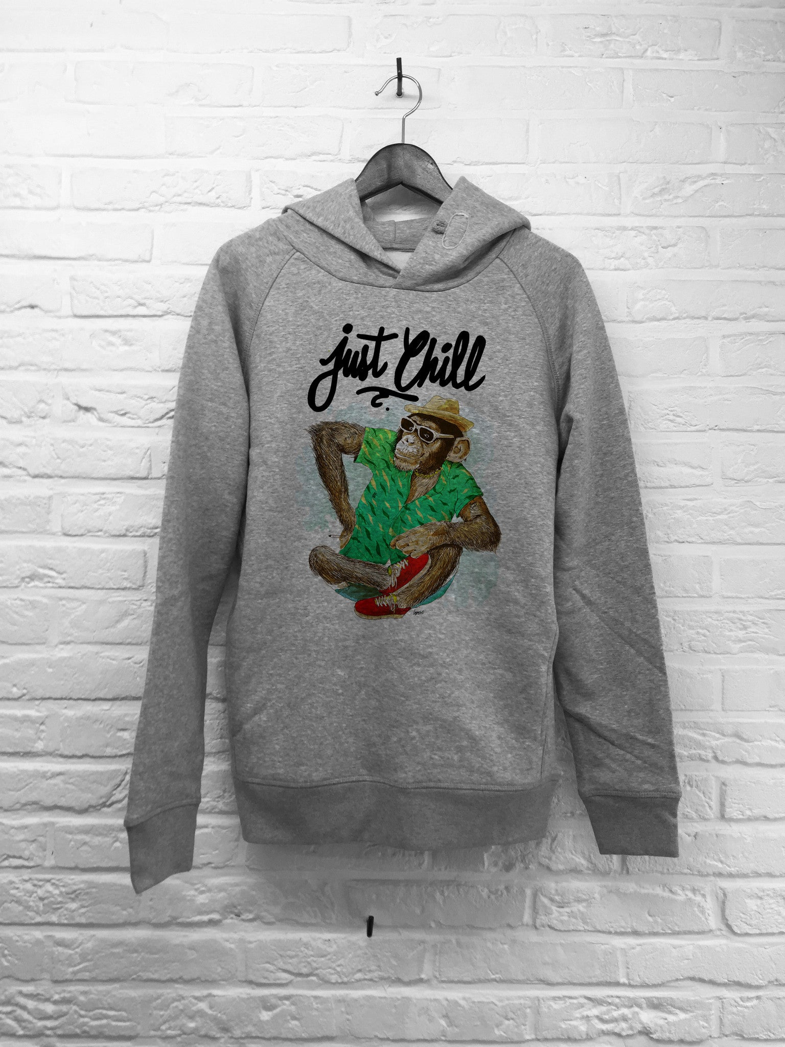 TH Gallery - Singe just Chill - Hoodie Deluxe-Sweat shirts-Atelier Amelot