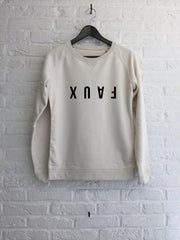 Faux reverse - Sweat Femme-Sweat shirts-Atelier Amelot