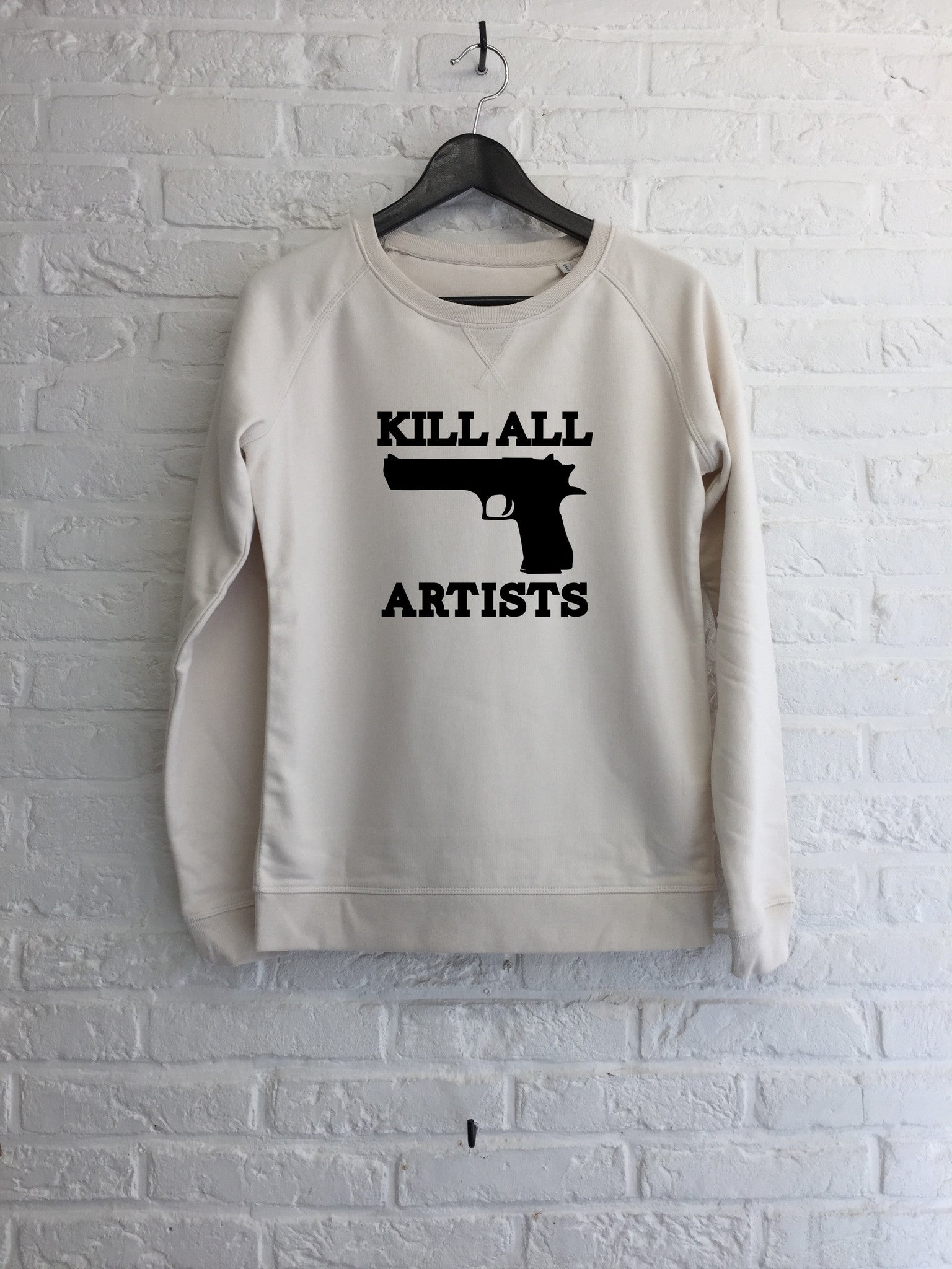 Kill all artists - Sweat Femme-Sweat shirts-Atelier Amelot