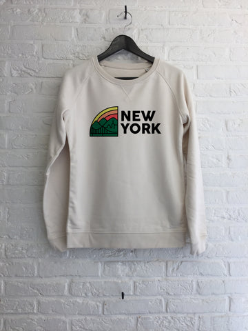 New York rainbow - Sweat Femme