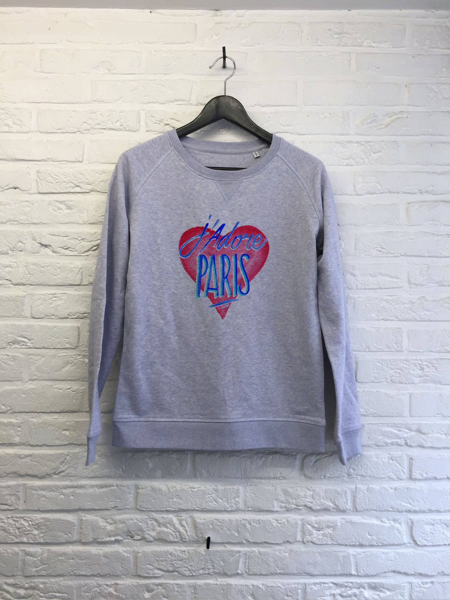 TH Gallery - J'adore Paris - Sweat - Femme-Sweat shirts-Atelier Amelot