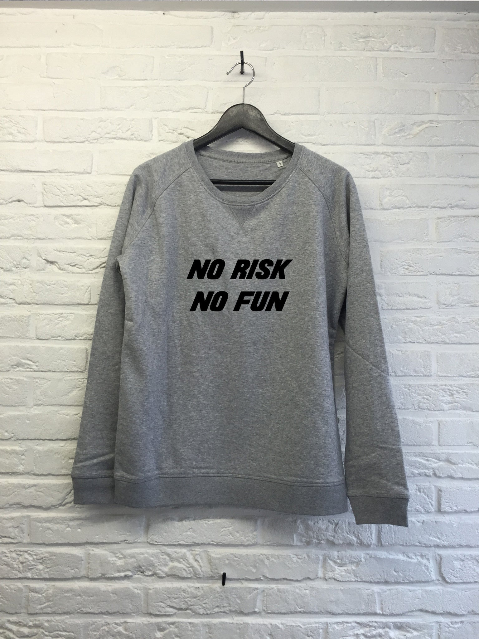 No risk no fun - Sweat - Femme-Sweat shirts-Atelier Amelot