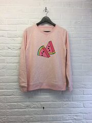 Tranches de Pastèque - Sweat - Femme-Sweat shirts-Atelier Amelot