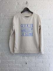 TH Gallery - Quai de Seine - Sweat - Femme-Sweat shirts-Atelier Amelot