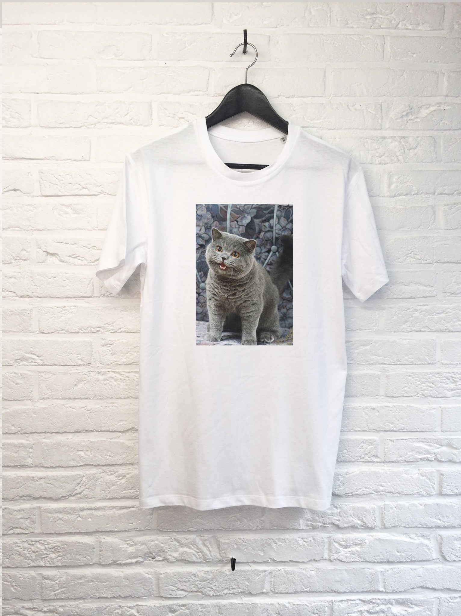 Chat Cheezburger-T shirt-Atelier Amelot