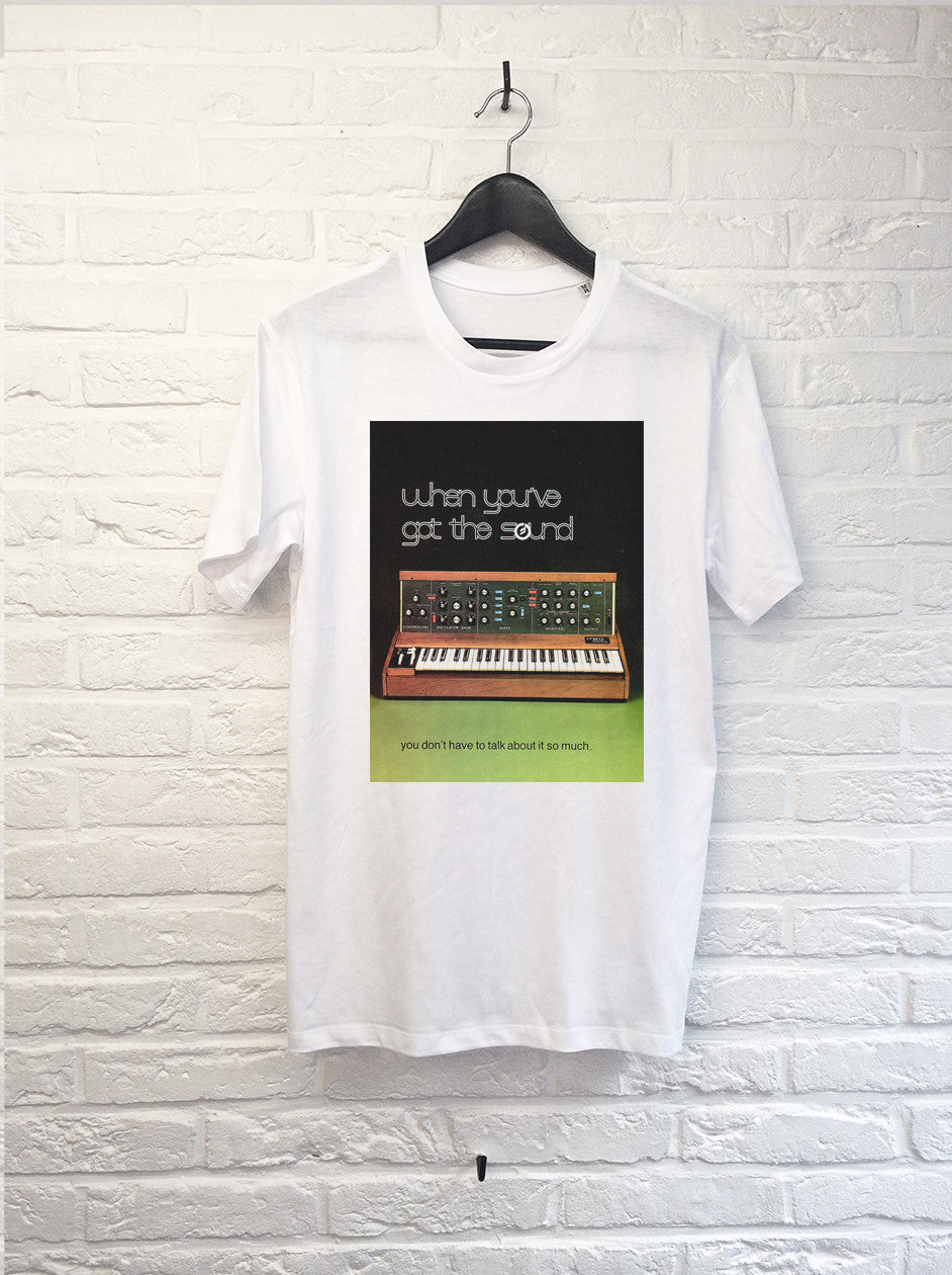 When you've got the sound Mini Moog-T shirt-Atelier Amelot