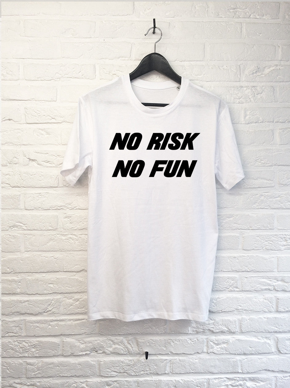 No risk No fun-T shirt-Atelier Amelot